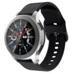 Silicone Watchband Strap for Samsung Gear S3 Active – Black