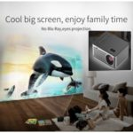 UC26 Mini Projector Home Theater Multimedia USB/TF Smart Led Pocket – US Plug