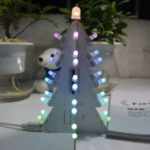 DIY Light Gradient Full Color LED Acrylic Christmas Tree Tower Kit