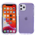 Rhombus Surface Drop-resistant PC TPU Cell Phone Case for iPhone 11 Pro Max 6.5 inch – Purple