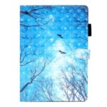 Light Spot Decor Pattern Printing Leather Cover for iPad mini (2019) 7.9 inch/4/3/2/1 – Winter Forest