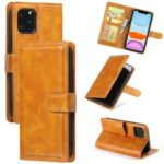 Wallet Leather Stand Case for iPhone 11 Pro Max 6.5 inch – Orange