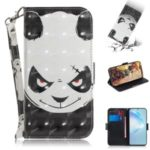Light Spot Decor Pattern Printing Wallet Leather Phone Shell for Samsung Galaxy S11 – Panda