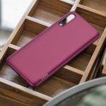X-LEVEL Guardian Series Ultra Slim TPU Phone Case for Samsung Galaxy A50s – Wine Red