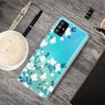 Pattern Printing IMD TPU Phone Case for Samsung Galaxy S11 – White Flower