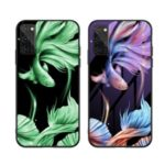 Luminous Tempered Glass PC + TPU Back Case for Huawei Honor View 30/V30/View 30 Pro/V30 Pro – Fish