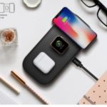 WIWU M2 Smart 3-in-1 Wireless Charger for Apple Watch/iPhone/AirPods