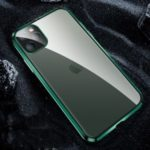 Matte Acrylic Phone Case Cover with Lens Cover for iPhone 11 Pro 5.8 inch – Green