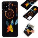 Noctilucent IMD TPU Back Case for Samsung Galaxy S20 Plus – Feather Dream Catcher