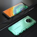 Magic Shield Series Drop-proof Metal + Silicone Phone Case for Huawei Mate 30 Pro – Green
