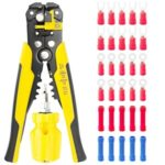 Stripping tool Kit Multifunctional Cable Wire Stripper Wire Cutter Crimping Pliers Stripping Tool Crimping Tool
