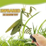 Remote Control Mantis Simulated Insect Toys Portable RC Toy for Kids Gift