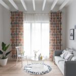 Fashionable Pattern Curtain for Living Room Bedroom Balcony Kitchen Hotel Window – Multi-color