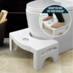 Foldable Squatty Potty Toilet Anti Constipation Step Stool Plastic Thickened