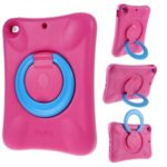 PEPKOO Shock-proof 360° Swivel Kickstand EVA Tablet Case for iPad Air 10.5 inch (2019) – Rose