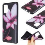 Embossment TPU Case Pattern Printing Soft Phone Shell for Samsung Galaxy A71 – Pretty Flower