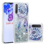 Pattern Printing Glitter Powder Quicksand Soft TPU Case for Samsung Galaxy A21 – Dream Catcher