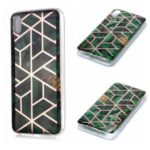 Marble Pattern Electroplating IMD TPU Phone Case for Xiaomi Redmi 7A – Style A