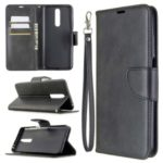Wallet Stand PU Leather Phone Protection Case for Xiaomi Redmi K30/K30 5G – Black
