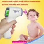 No Contact Infrared Forehead Thermometer Dual with Fever Alarm