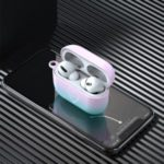Gradient-color Style Earphone Case for Apple AirPods Pro – Pink/Blue