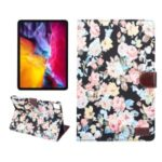 Flower Cloth Skin PU Leather Case for iPad Pro 11-inch (2020) (2018) – Black
