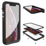 Seal Series Waterproof Case Phone Cover Shell for Apple iPhone 11 6.1 inch – Black