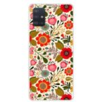 Pattern Printing TPU Phone Case for Samsung Galaxy A71 – Pretty Flower