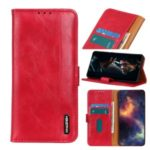 Wallet Leather Stand Case for Samsung Galaxy A31 – Red
