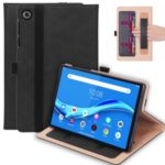 WY-2099 Business Style Flip Leather Stand Tablet Case with Card Slots for Lenovo Tab M10 FHD Plus 10.3-inch TB-X606F – Black
