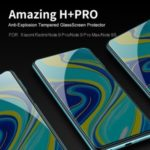NILLKIN Amazing H+PRO Tempered Glass Screen Anti-Explosion Protector for Xiaomi Redmi Note 9 Pro/Redmi Note 9 Pro Max/Redmi Note 9S
