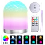 RGB LED Lamp Night Light Rechargeable Remote Control Lamp