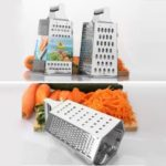 Six-sided Box Grater Stainless Steel Vegetable Cheese Multi Purpose Chopper