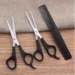 MW-775 3Pcs/Set Hairdressing Scissor Barber Salon Hair Cutting Shears with Comb