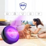 Car Tyre – shaped UV Ultraviolet Steriliser Germicidal Lamp Home Wardrobe Disinfection Light