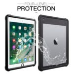 IP68 Waterproof Drop-proof Dust-proof Tablet Cover for iPad Air (2013)/iPad 9.7-inch (2018) A1893 A1954 / (2017) A1822