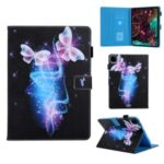 Pattern Printing Multi-angle Stand Leather Card Slot Tablet Case for iPad Pro 11-inch (2020)/(2018) – Magic Butterflies
