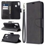 Wallet Leather Stand Case for Samsung Galaxy A11 / Galaxy M11 – Black