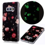 Noctilucent Patterned IMD TPU Cover for Samsung Galaxy S10e – Beautiful Flowers