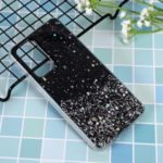 Glitter Sequins Inlaid Style TPU Shell Cover Casing for Huawei P40 – Black