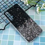 Glitter Sequins Inlaid Style TPU Shell Cover Casing for Huawei Honor 20/Nova 5T – Black