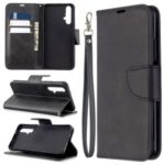 Wallet Leather Stand Case for Huawei Honor 20s (Global Edition) – Black