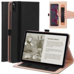 WY-2099 Business Style Flip Leather Stand Tablet Shell with Card Slots for Huawei Matepad – Black