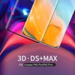 NILLKIN 3D DS + Max Anti-burst Curved Tempered Glass Screen Film Protector for Huawei P40 Pro/P40 Pro+