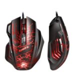 APEDRA A7 USB Wired Gaming Mouse 7 Buttons Ergonomic Mice Colorful LED Optical Mouse