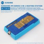 SUNSHINE T12A-X3 Motherboard Repair Tool + Soldering Station Kit for iPhone X/XS/XS/Max (110-220V)