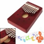 10-Key Kalimba Thumb Piano Pine Body Education Toy for Adult Kids
