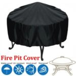 BBQ Cover 210D Waterproof Dustproof Cloth Outdoor Barbecue Stove Cover