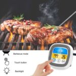 Kitchen Food Barbecue Timer Digital Touch Thermometer