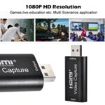 USB 2.0 HDMI Mobile Game HD Camera Recording Box PC Live Broadcast Mini Video Capture Card